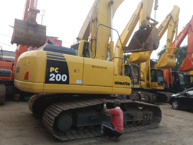 Excavator Komatsu Pc200 8 Tahun 2012 Jakarta Alat Berat Com